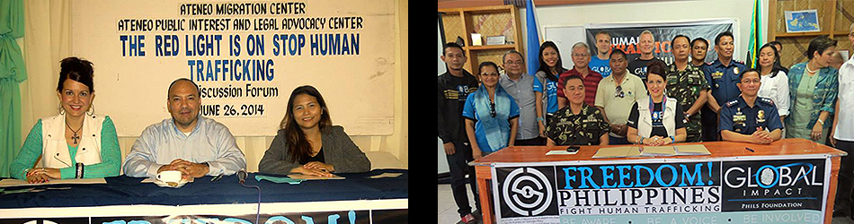 STOP Human Trafficking Forum & MOA Signing